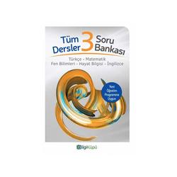 Bilgiküpü Yayınları - BilgiKüpü Yayınları 3. Sınıf Tüm Dersler Soru Bankası