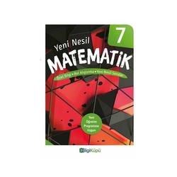 Bilgiküpü Yayınları - BilgiKüpü Yayınları 7. Sınıf Yeni Nesil Matematik