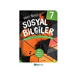 Bilgiküpü Yayınları - BilgiKüpü Yayınları 7. Sınıf Yeni Nesil Sosyal Bilgiler