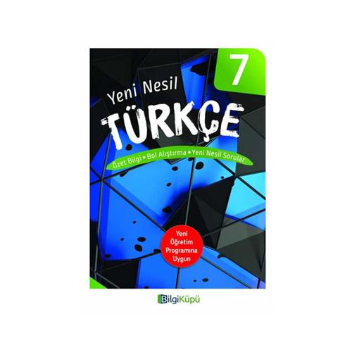 BilgiKüpü Yayınları 7. Sınıf Yeni Nesil Türkçe