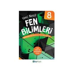 Bilgiküpü Yayınları - BilgiKüpü Yayınları 8. Sınıf Yeni Nesil Fen Bilimleri