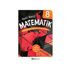 Bilgiküpü Yayınları - BilgiKüpü Yayınları 8. Sınıf Yeni Nesil Matematik