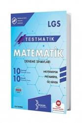 Bilinçsel Yayınları - Bilinçsel Yayınları 2021 8. Sınıf LGS Testmatik Matematik Deneme Sınavları