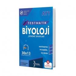 Bilinçsel Yayınları - Bilinçsel Yayınları 2021 AYT Testmatik Biyoloji Deneme Sınavları 30X13
