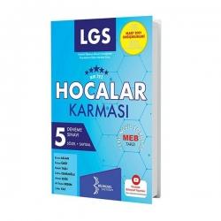Bilinçsel Yayınları - Bilinçsel Yayınları 2021 LGS Hocalar Karması 5 Deneme Sınavı