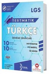 Bilinçsel Yayınları - Bilinçsel Yayınları 2021 LGS Testmatik Türkçe Deneme Sınavları