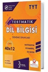 Bilinçsel Yayınları - Bilinçsel Yayınları 2021 TYT Dil Bilgisi Testmatik 40x12 Deneme Sınavları