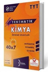 Bilinçsel Yayınları - Bilinçsel Yayınları 2021 TYT Kimya Testmatik 40x7 Deneme Sınavları