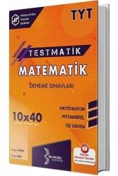 Bilinçsel Yayınları - Bilinçsel Yayınları 2021 TYT Matematik Testmatik 10x40 Deneme Sınavları