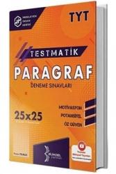 Bilinçsel Yayınları - Bilinçsel Yayınları 2021 TYT Paragraf Testmatik 25x25 Deneme Sınavları