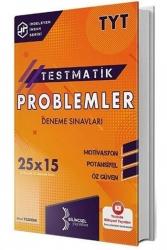 Bilinçsel Yayınları - Bilinçsel Yayınları 2021 TYT Problemler Testmatik 25x15 Deneme Sınavları