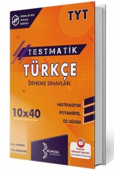 Bilinçsel Yayınları - Bilinçsel Yayınları 2021 TYT Türkçe Testmatik 10x40 Deneme Sınavları