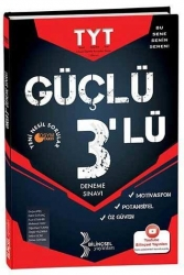 Bilinçsel Yayınları - Bilinçsel Yayınları TYT Güçlü 3'lü Deneme Sınavı