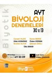 Biyotik Yayınları - Biyotik Yayınları AYT Biyoloji 30×13 Denemeleri