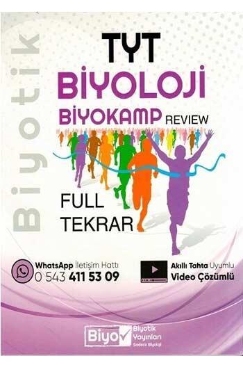 Biyotik Yayınları - Biyotik Yayınları TYT Biyoloji Full Tekrar Biyokamp