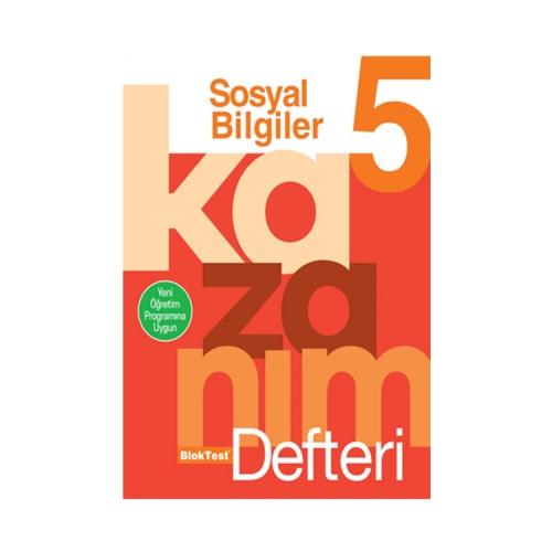 Bloktest Yayınları 5. Sınıf Sosyal Bilgiler Kazanım Defteri
