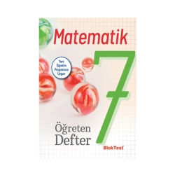 Bloktest Yayınları - Bloktest Yayınları 7. Sınıf Matematik Öğreten Defter