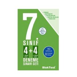Bloktest Yayınları - BlokTest Yayınları 7.Sınıf 4+4 Deneme Sınavı Seti