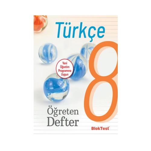 Bloktest Yayınları 8. Sınıf Türkçe Öğreten Defter