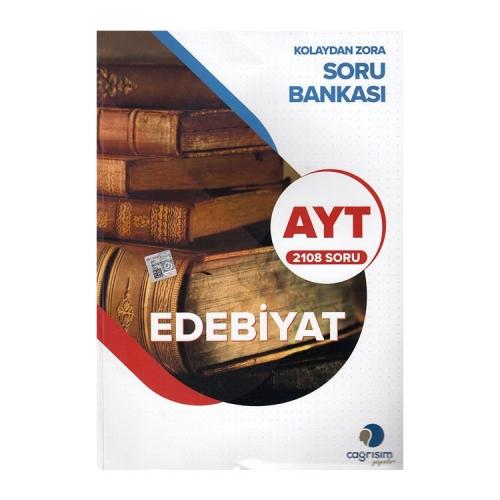 Çağrışım Yayınları AYT Edebiyat Kolaydan Zora Soru Bankası