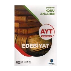 Çağrışım Yayınları - Çağrışım Yayınları AYT Edebiyat Konu Anlatımı