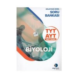 Çağrışım Yayınları - Çağrışım Yayınları TYT AYT Biyoloji Kolaydan Zora Soru Bankası