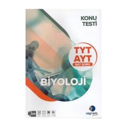Çağrışım Yayınları - Çağrışım Yayınları TYT AYT Biyoloji Konu Testi