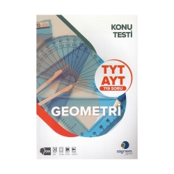 Çağrışım Yayınları - Çağrışım Yayınları TYT AYT Geometri Konu Testi
