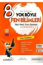 Çalışkan Yayınları - Çalışkan Yayınları 8. Sınıf Fen Bilimleri Yok Böyle Soru Bankası