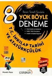 Çalışkan Yayınları - Çalışkan Yayınları 8. Sınıf T.C. İnkılap Tarihi ve Atatürkçülük Yok Böyle Deneme