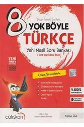 Çalışkan Yayınları - Çalışkan Yayınları 8. Sınıf Türkçe Yok Böyle Soru Bankası
