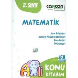 CanCan Yayınları - CanCan 2020 2.Sınıf Matematik Konu Kitabım