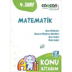 CanCan Yayınları - CanCan 2020 4.Sınıf Matematik Konu Kitabım