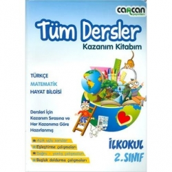 CanCan Yayınları - CanCan 2.Sınıf Tüm Dersler Kazanım Kitabım