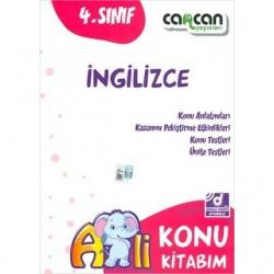 CanCan Yayınları - CanCan 4.Sınıf İngilizce Konu Kitabım