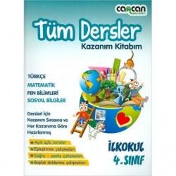 CanCan Yayınları - CanCan 4.Sınıf Tüm Dersler Kazanım Kitabım