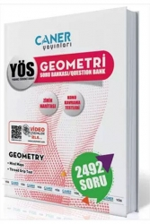Caner Yayınları - Caner Yayınları YÖS Geometri Soru Bankası