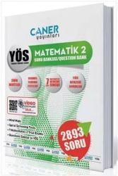 Caner Yayınları - Caner Yayınları YÖS Matematik 2 Soru Bankası
