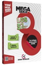 Cevap Yayınları - Cevap Yayınları 8. Sınıf LGS 1. Dönem MEGA 5'li Deneme Sınavı
