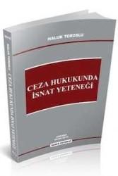 Savaş Yayınevi - Ceza Hukukunda İsnat Yeteneği Savaş Yayınları