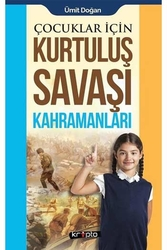 Kripto Yayınları - Çocuklar İçin Kurtuluş Savaşı Kahramanları Kripto Basım Yayın