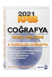 Coğrafya Kalesi - Coğrafya Kalesi Yayınları 2021 KPSS Coğrafya 6 Fasikülde Konu Anlatım