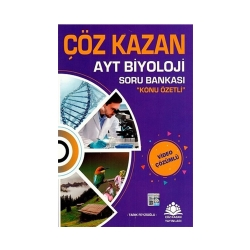Çöz Kazan Yayınları - Çöz Kazan Yayınları AYT Biyoloji Konu Özetli Soru Bankası