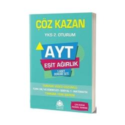 Çöz Kazan Yayınları - Çöz Kazan Yayınları AYT Eşit Ağırlık 5 Adet Deneme Seti