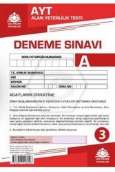 Çöz Kazan Yayınları - Çöz Kazan Yayınları AYT Kurumsal Deneme Sınavı 3