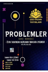 Çöz Kazan Yayınları - Çöz Kazan Yayınları Problemler Tamamı Video Çözümlü Soru Bankası