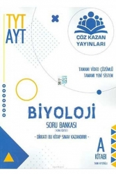 Çöz Kazan Yayınları - Çöz Kazan Yayınları TYT AYT Biyoloji Tamamı Video Çözümlü Soru Bankası