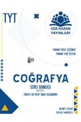 Çöz Kazan Yayınları - Çöz Kazan Yayınları TYT Coğrafya Soru Bankası (Konu Özetli)