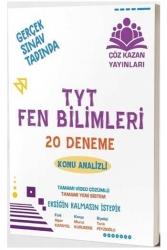 Çöz Kazan Yayınları - Çöz Kazan Yayınları TYT Fen Bilimleri Video Çözümlü 20 Deneme