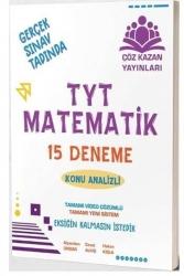 Çöz Kazan Yayınları - Çöz Kazan Yayınları TYT Matematik 15 li Tamamı Video Çözümlü Denemeleri